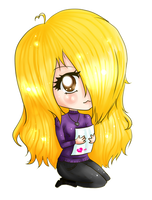 A cute chibi of me by MyStarryDreams
