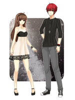 Entry for: Minicontest #4 Design Our Outfits by MyStarryDreams