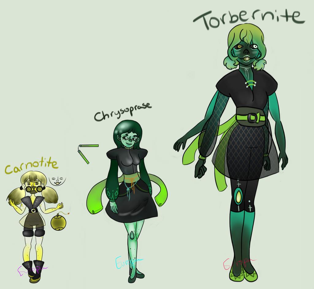 torbernite gemsona oc fusion by europaastronaut on deviantart