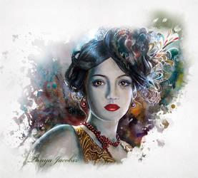 ...Mary...lips like cherries.. by tanya-and-coffee