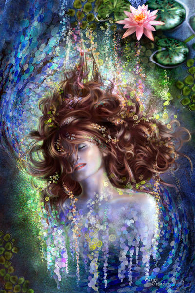 Last dream of Ophelia by tanya-and-coffee