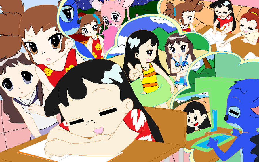 lilo s awesome dream by stitch62633 on deviantart