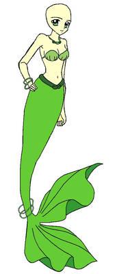 Mermaid Moledy Rina Base