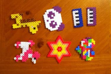 Perler bead creations Batch 2 by MinecraftMusic75