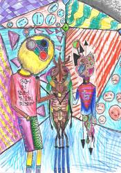 la habitacion cometa del escarabajo