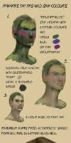 Tiny tips: Wild skin colours