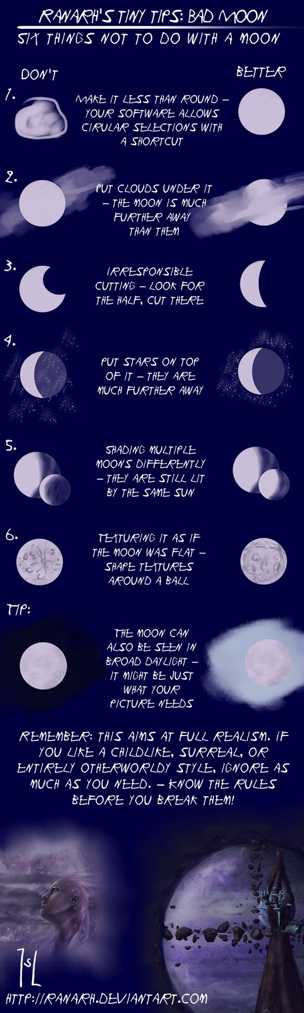 Tiny tips: Bad Moon by Ranarh