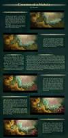 Creation of a nebula