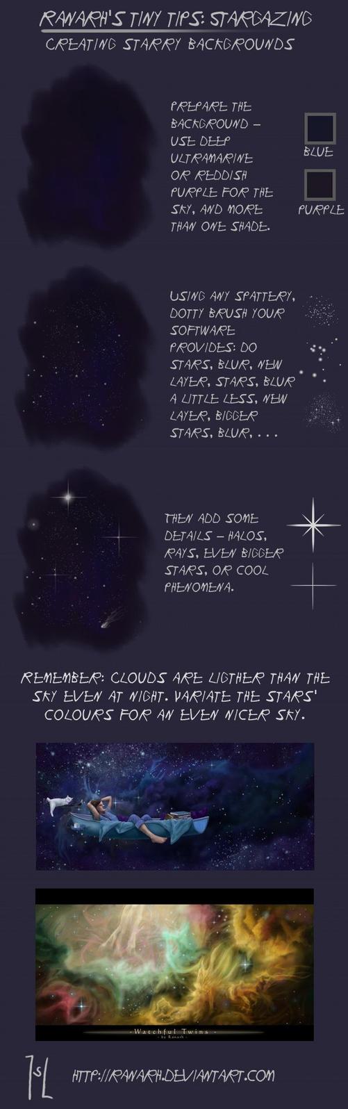 Tiny tips: Stargazing by Ranarh