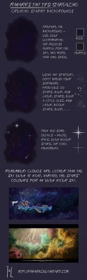Tiny tips: Stargazing