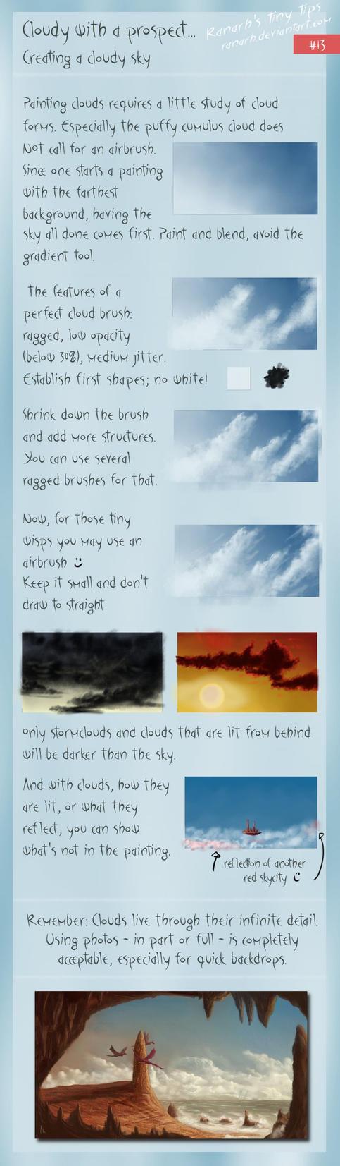 Tiny tips: Clouded by Ranarh