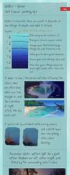 Tiny tips: Water - Colour by Ranarh