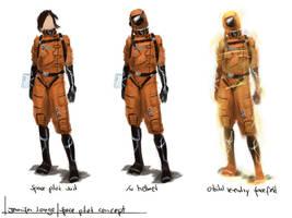 Space pilot concept by Ranarh