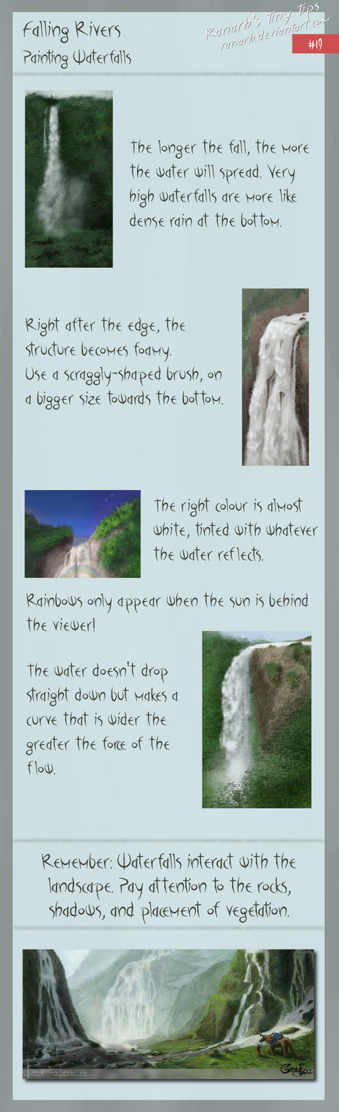 Tiny tips: Falling rivers by Ranarh