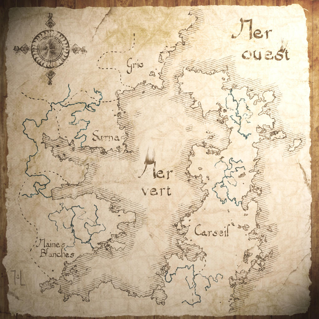 Map of Melronne by Ranarh