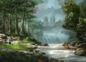 The eastern path by Ranarh