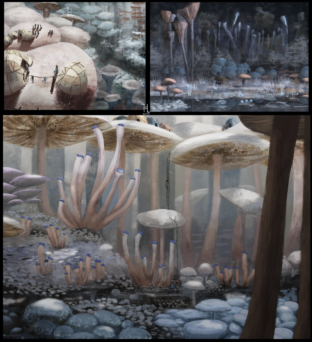 White forest concepts by Ranarh