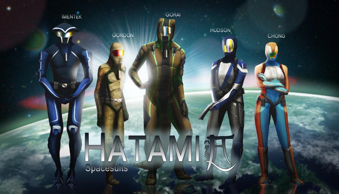 Hatami spacesuits by Ranarh