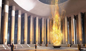 Temple of the Eternal Flame by Ranarh