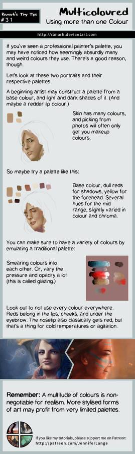 Tiny Tips: Multicoloured