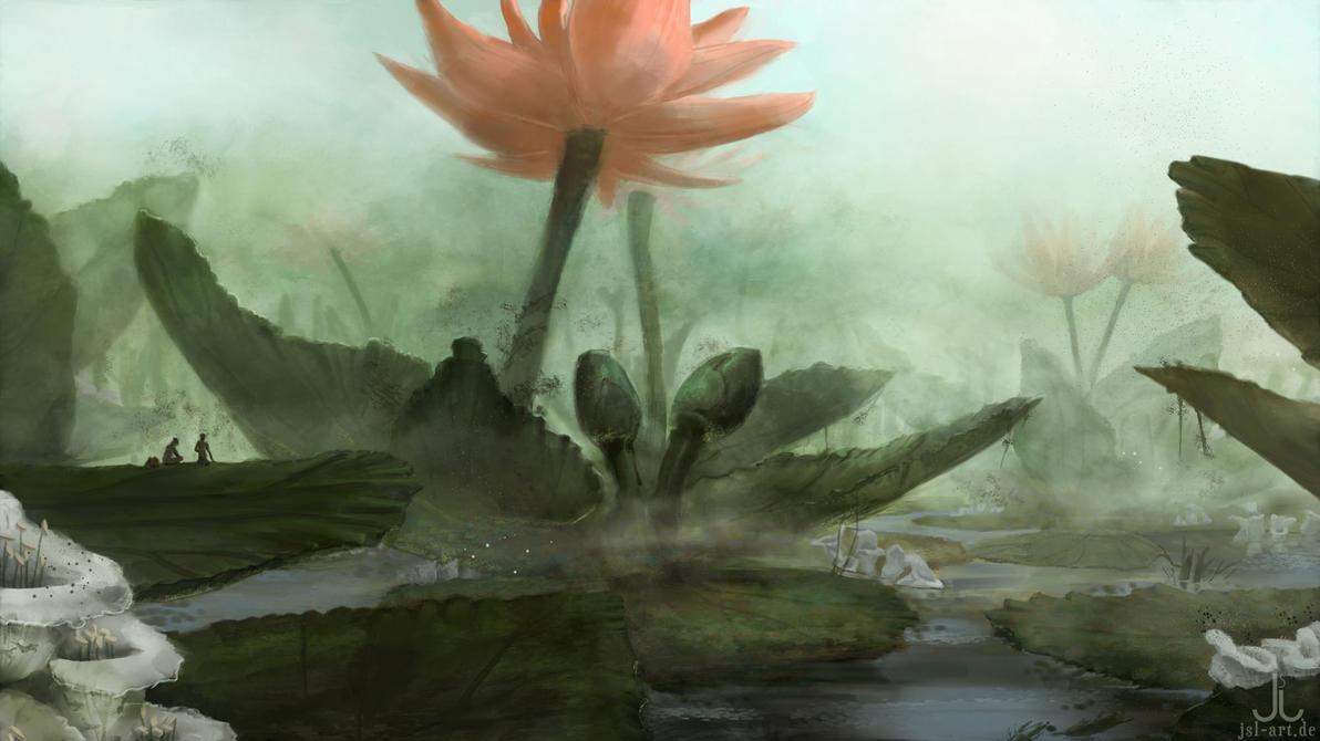 Noshomarin Swamp by Ranarh