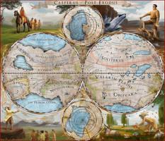 Caeperus - Post Exodus Map by Ranarh