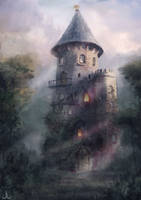 Magician's Tower by Ranarh