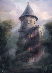Magician's Tower by Ranarh