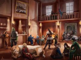 Rope's End Tavern by Ranarh