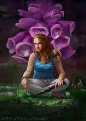 Foxglove Cover (repaint) by Ranarh