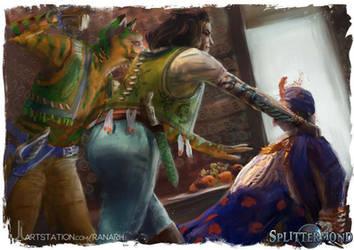 Splittermond - Badashanische Piraten by Ranarh