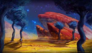 Sands, Rocks, and Stars