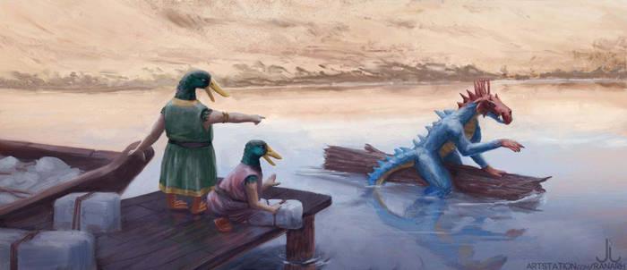 Duck People - RuneQuest