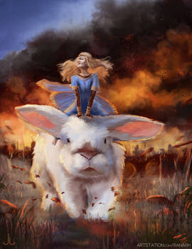 Maeve and the Hare