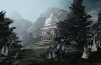 Pinetree Temple by Ranarh