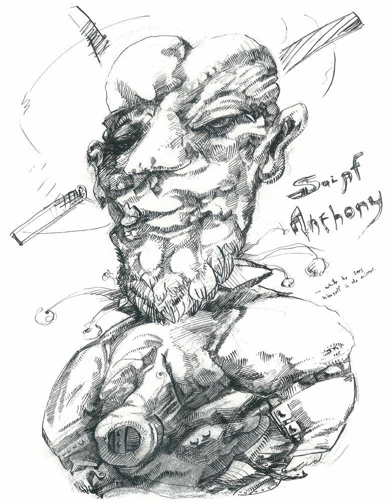Saint Anthony by jeremiahkauffman