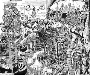 City 1 by jeremiahkauffman