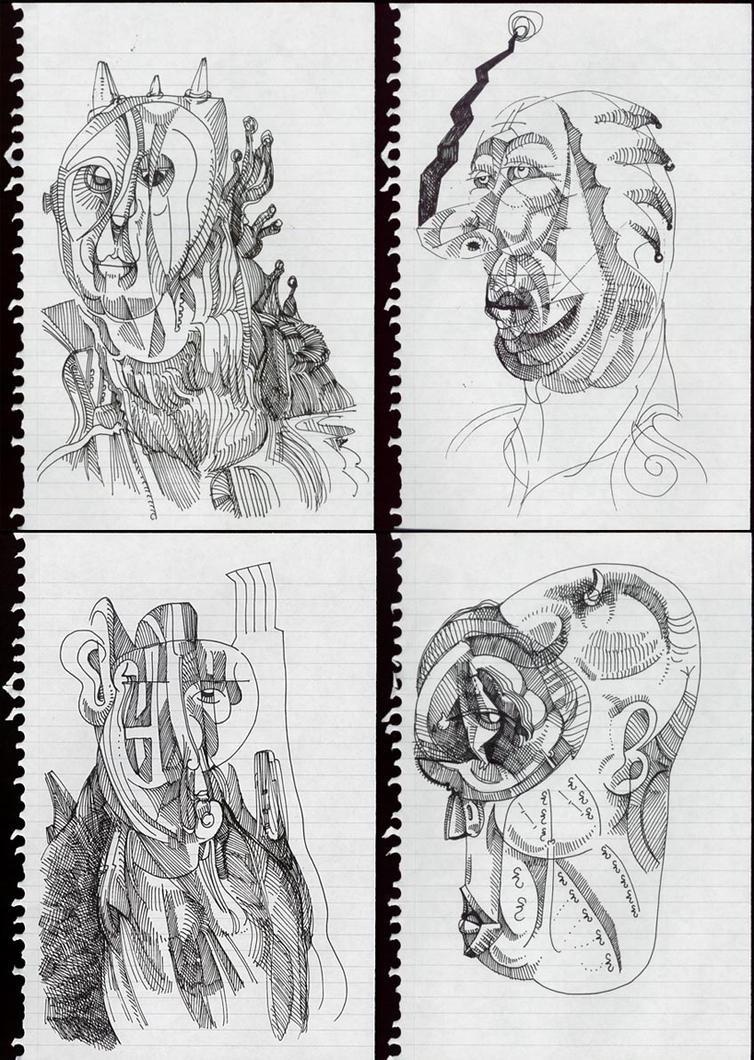 4 Nb Drawings-square by jeremiahkauffman