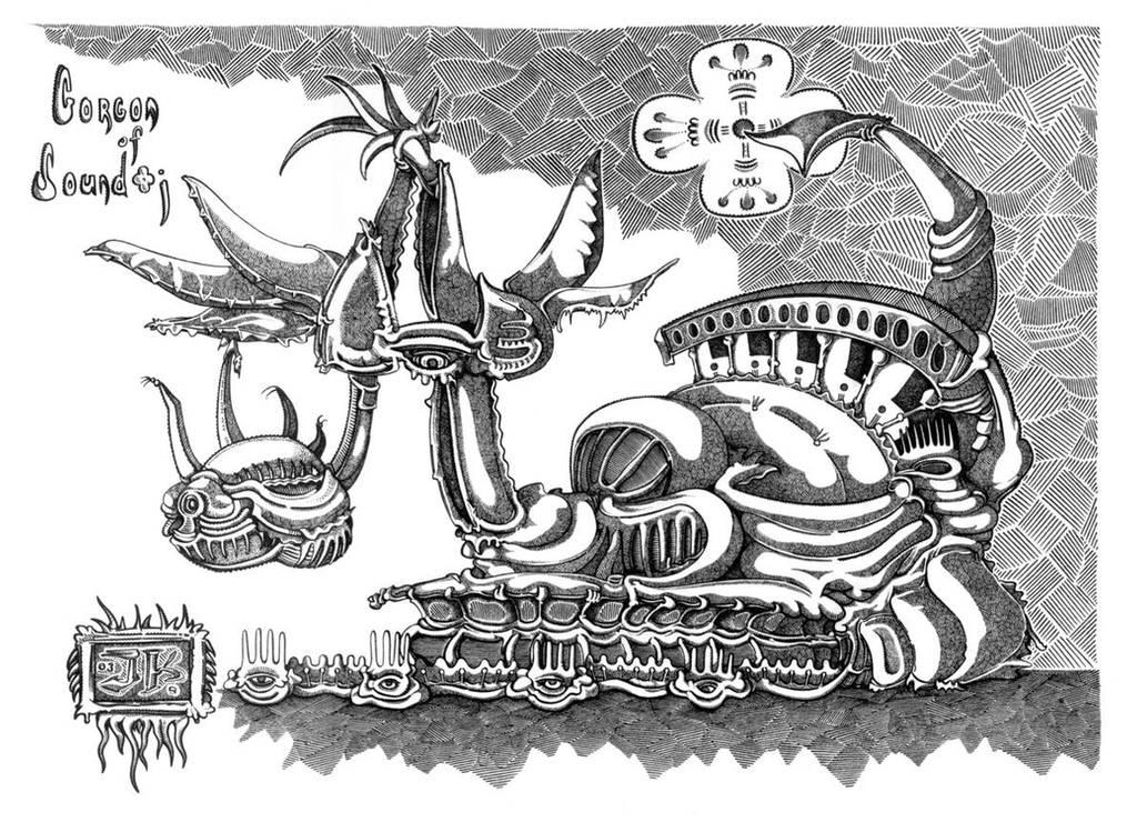 Sound-gorgon by jeremiahkauffman