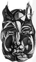 Devil-face 1 by jeremiahkauffman