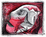 Red Block-2 by jeremiahkauffman