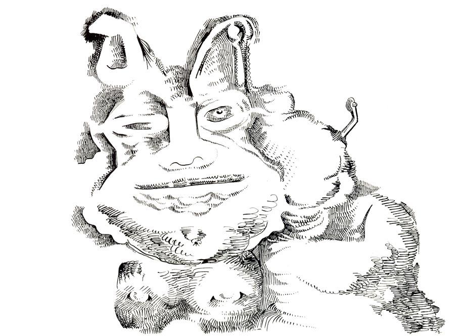 Bulky Feline-lg by jeremiahkauffman