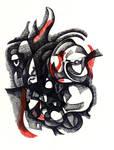 Broken Face Drawing-1