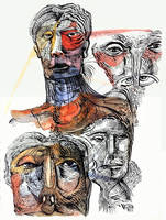 Yellow Red Sketch-1 (2) by jeremiahkauffman