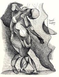 Three Legged Nude-lg by jeremiahkauffman