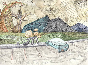 Mountain Creatures 2-lg