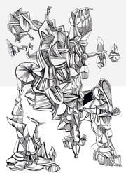 Distorted Figure 1 by jeremiahkauffman