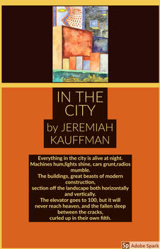 IN THE CITY by JEREMIAH KAUFFMAN