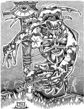A-god-called-god by JEREMIAH KAUFFMAN