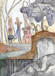 Mountain Creatures by JEREMIAH KAUFFMAN